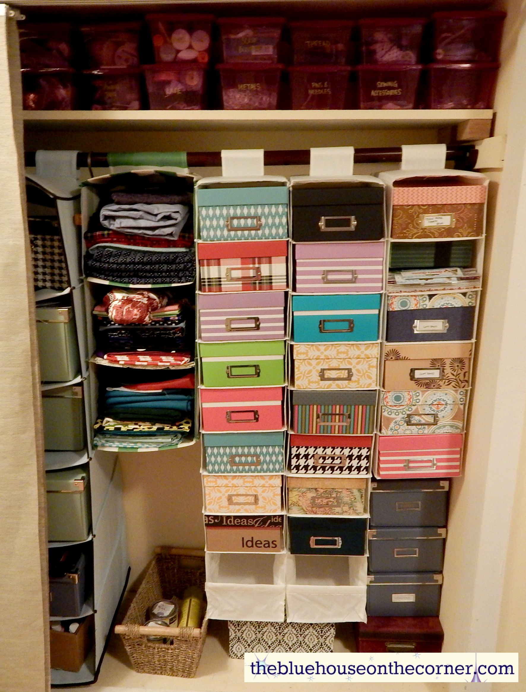This Photo Box And Closet Organizer Idea Does Not Have To Stay In The Craft  Roomu2026 How About For A Nursery? You Could Easily Store Your Babies Hats,  Socks, ...