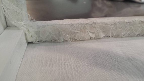 DIY Lace lamp shade 12
